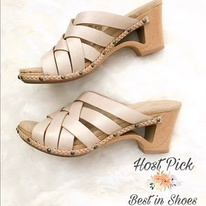 DANSKO wooden heeled sandals